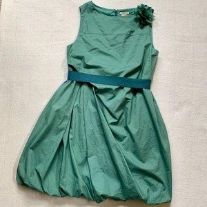 CREWCUTS 14 Green Formal Pila Dress